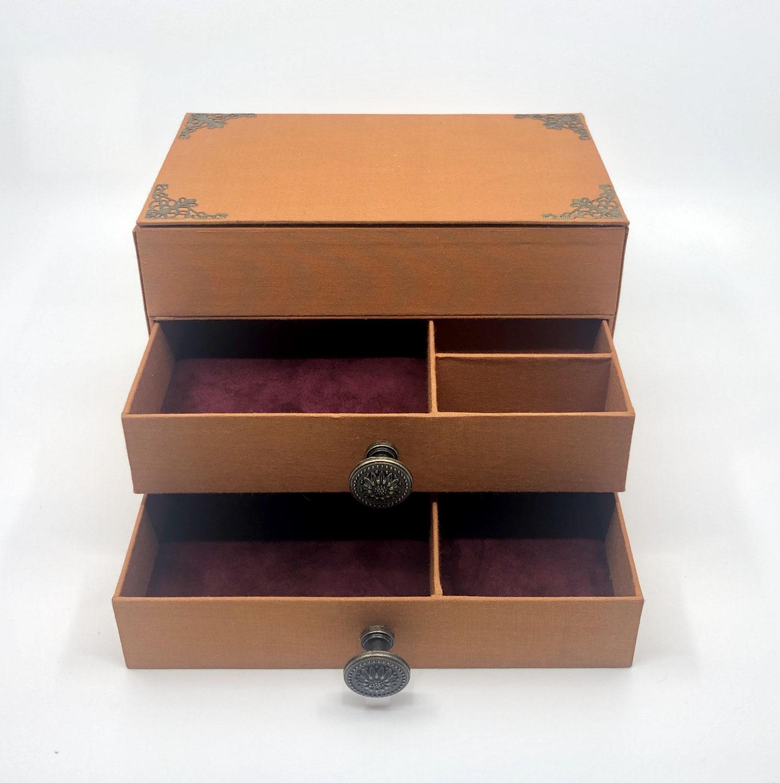 Handgearbeiteter Schmuckkasten
