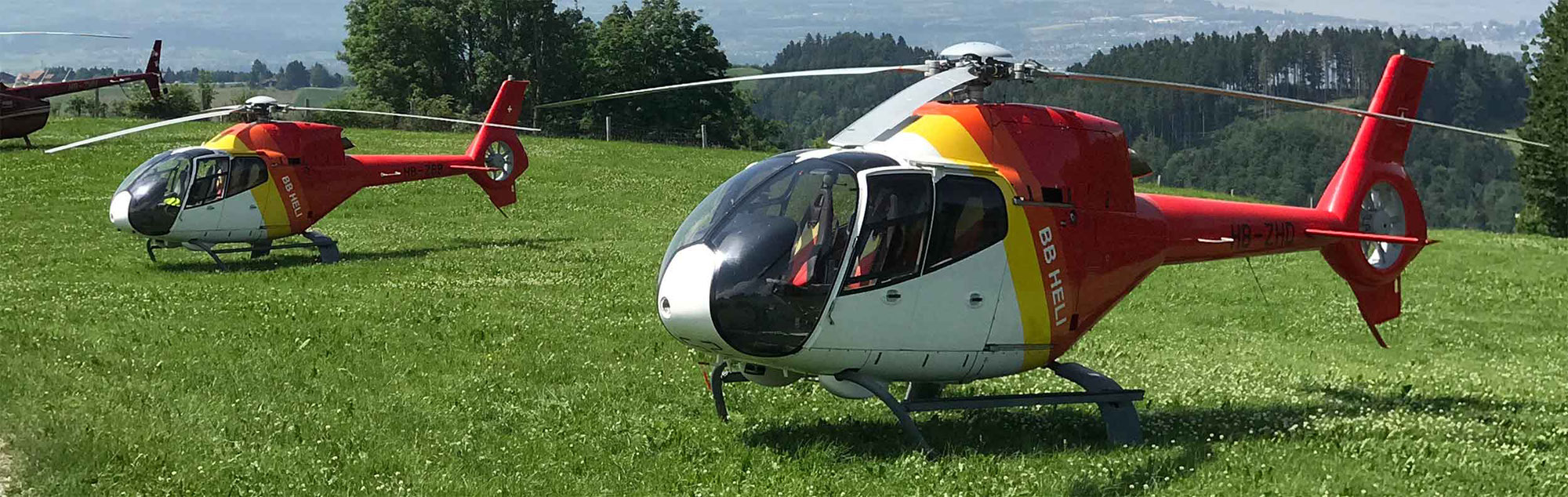 Unverbindliche Offerte Helikopterflug Zürich