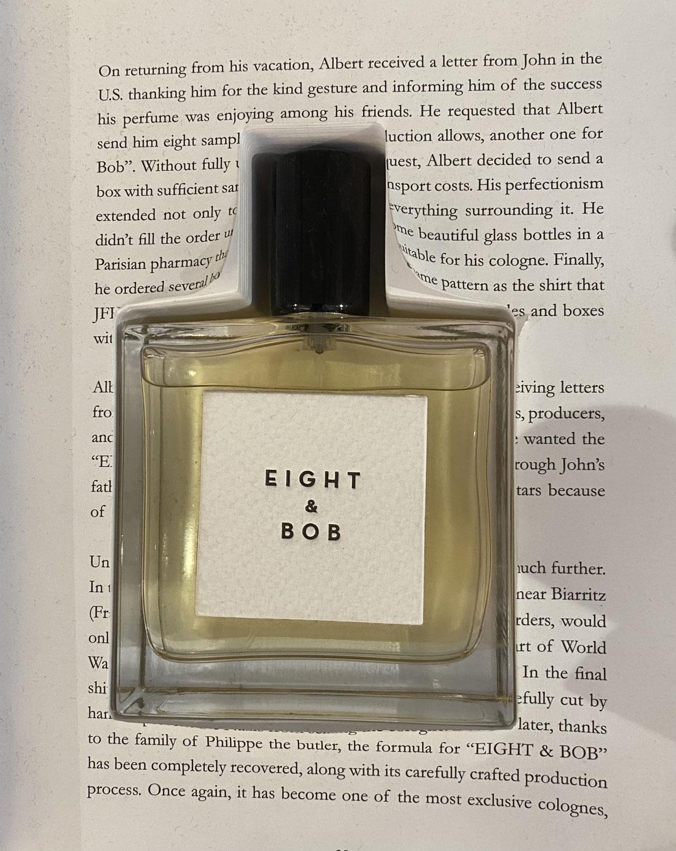 Eight & Bob, een prachtige geur met een verhaal uit het boekje