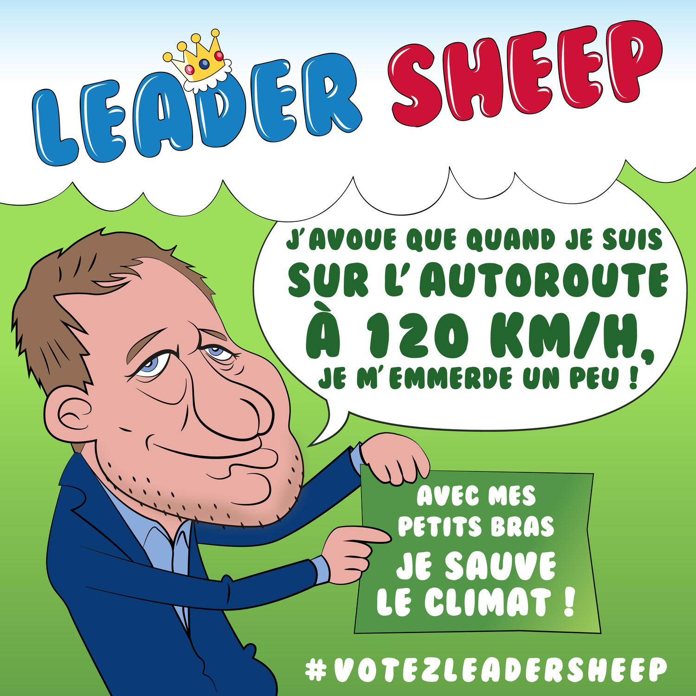Yannick Jadot remporte de justesse la primaire écologiste