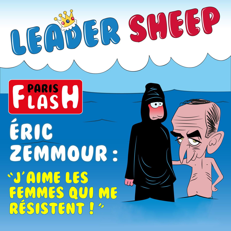 Zemmour à la une de Paris Match