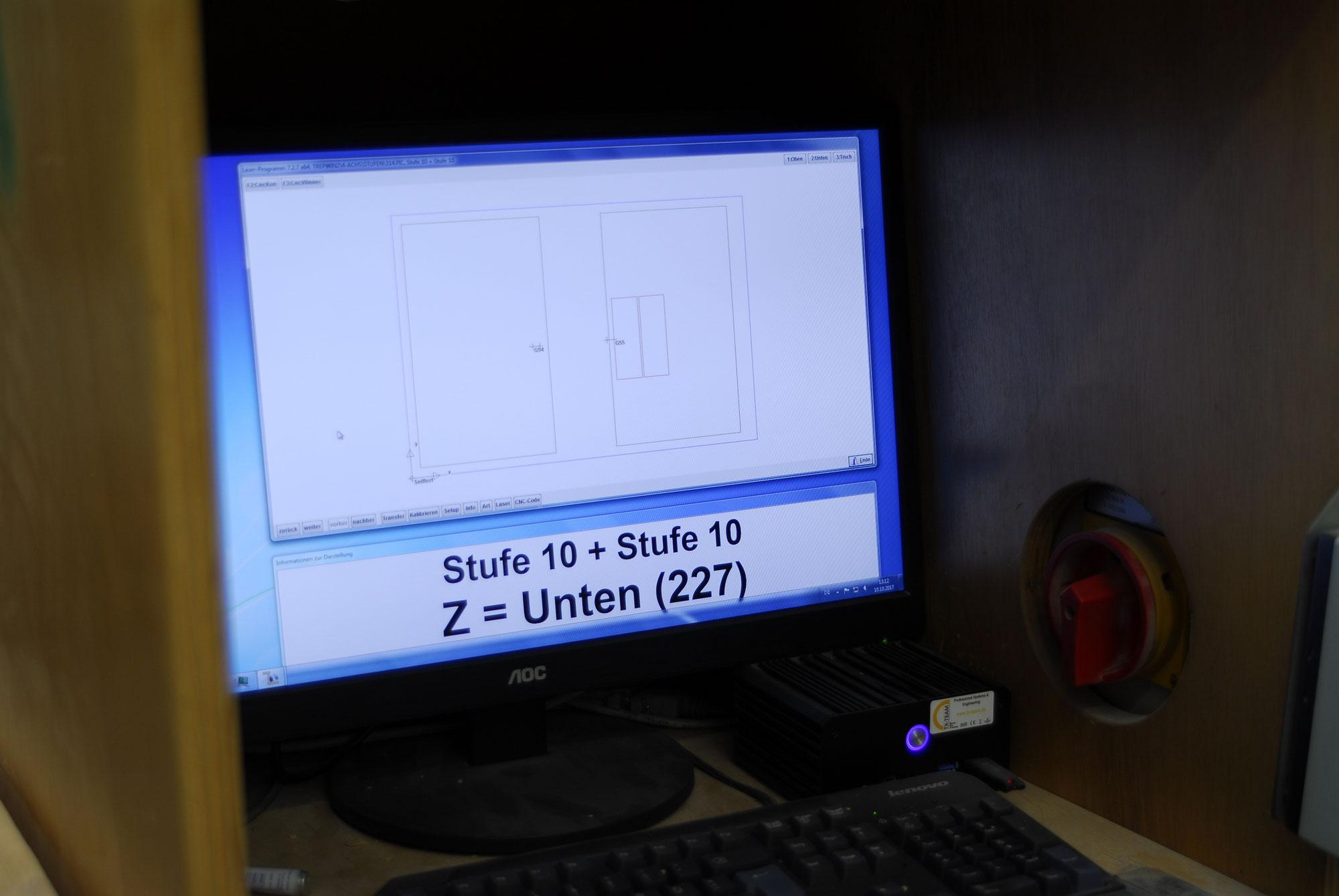 Bucher Treppen - moderne CNC-gestützte Treppenherstellung mit Präzision.