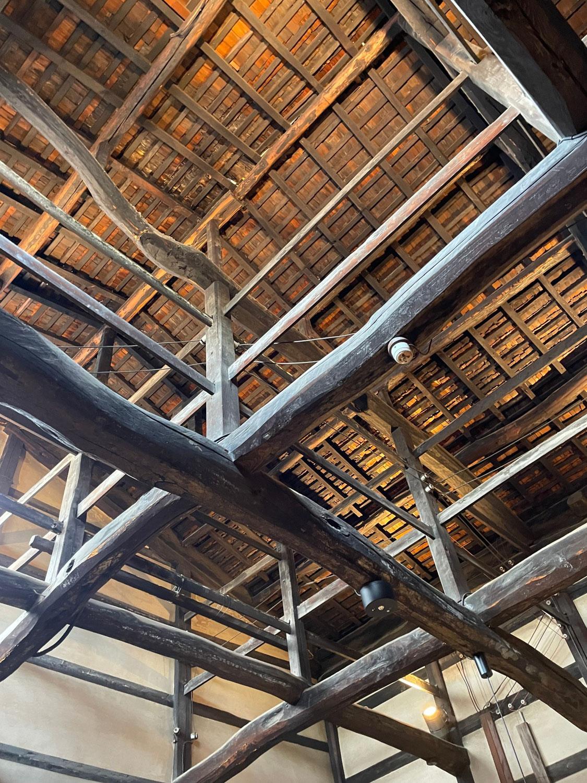 お座敷の天井