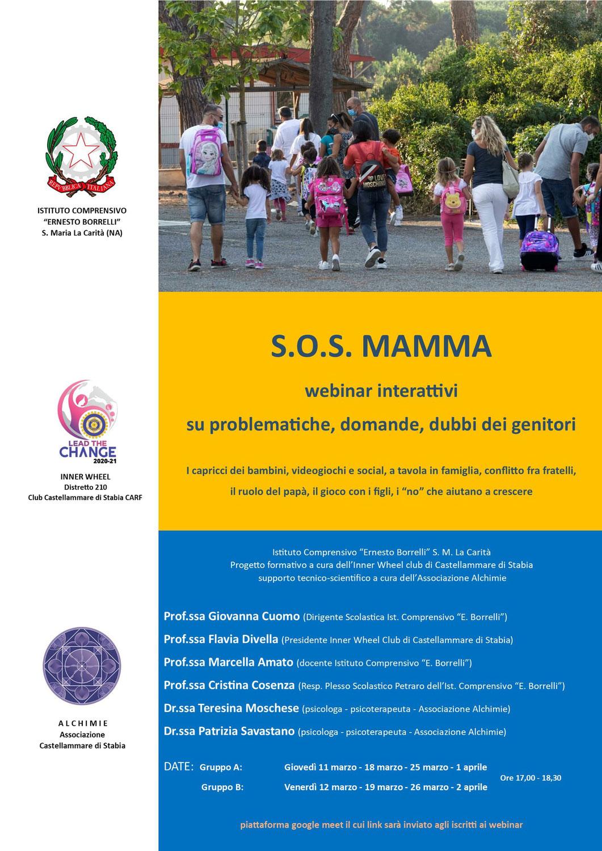 SOS mamma - WEBINAR INTERATTIVI