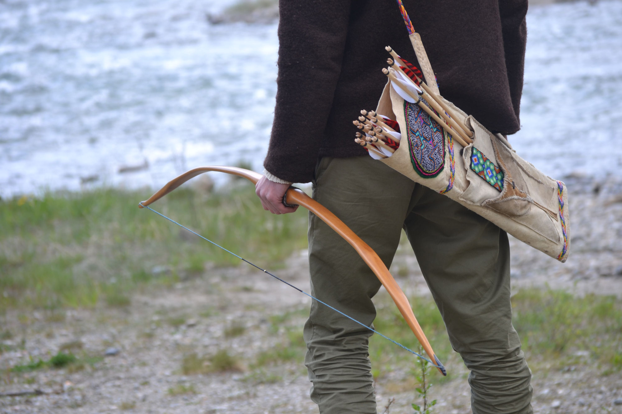 Bearpaw Bodnik Whisper String Standard Recurve Bogensehne 62 Zoll 10 Strang