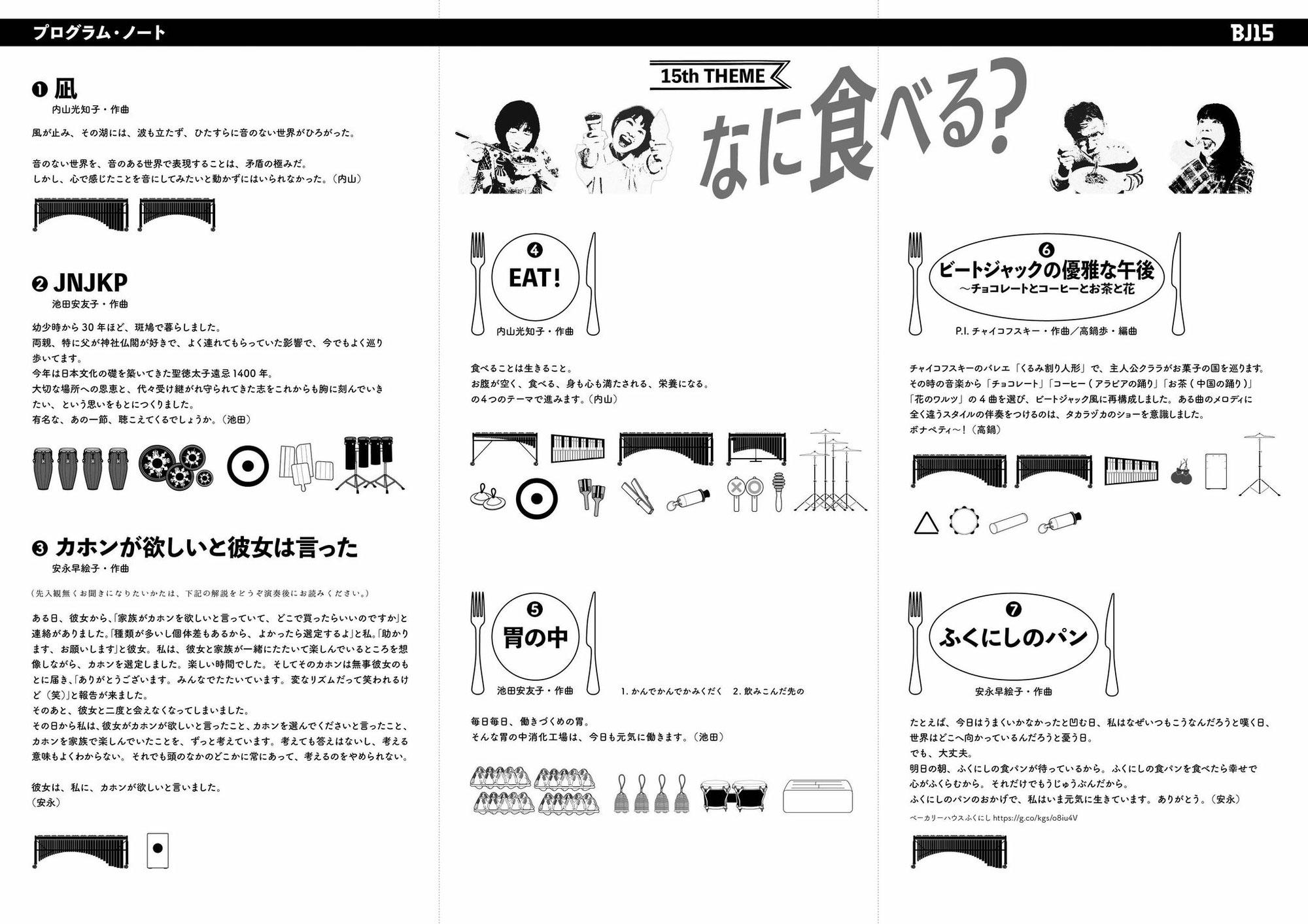 BJ15th 印刷物紹介