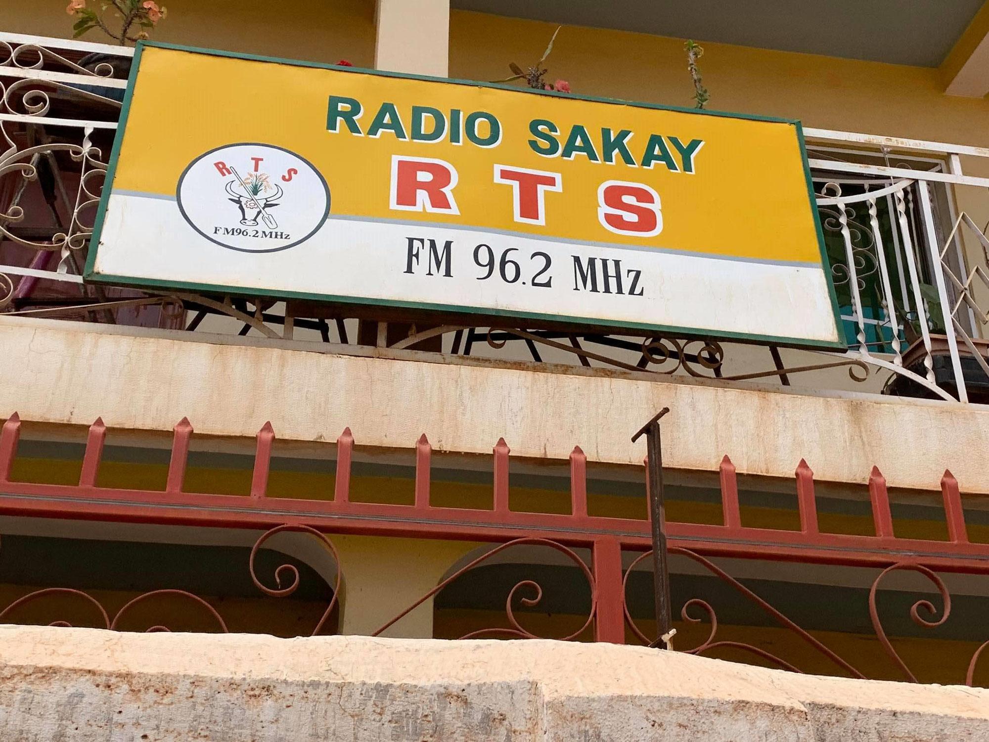 【マダガスカルラジオ】現地スタッフがRADIO SAKAYを訪問