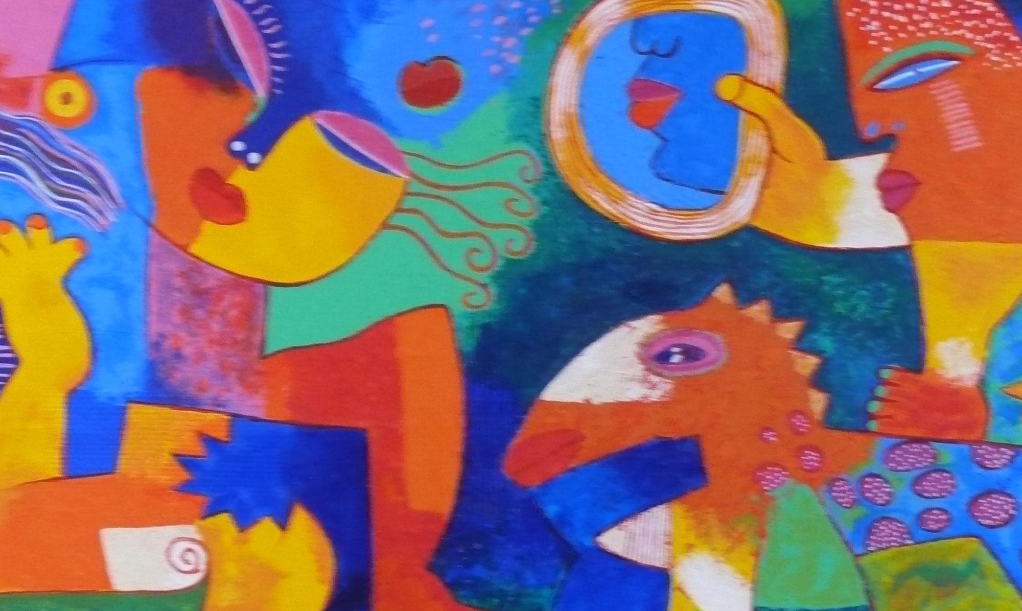 Vaak KUNSTWERKEN GERENOMMEERDE KUNSTENAARS - Pop-Up Galerie kunstwerken @WJ58