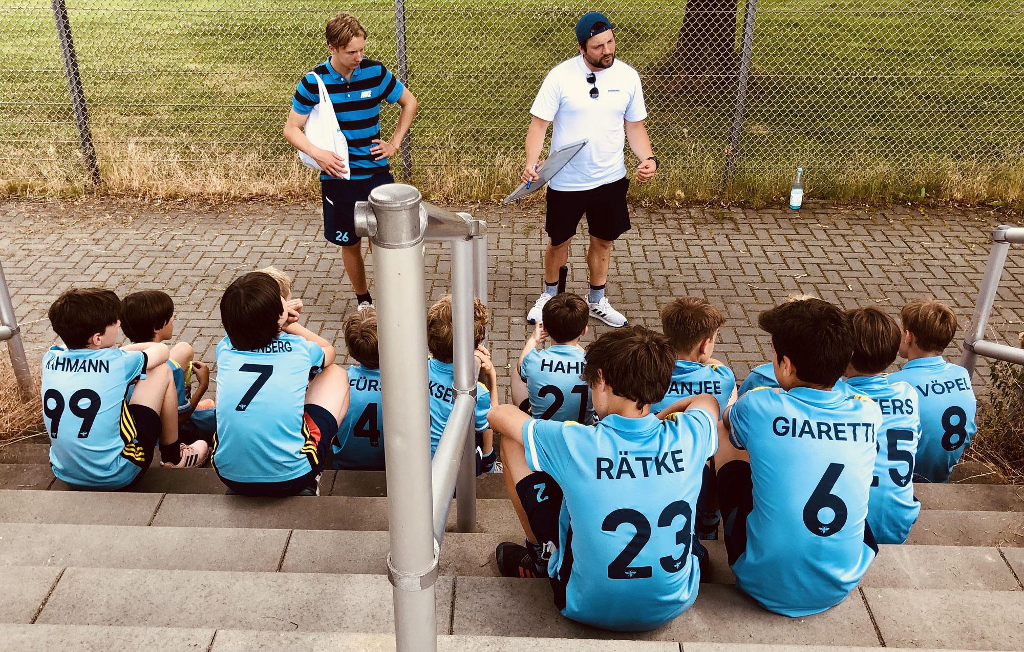 U12 siegt bei Restart-Turnier
