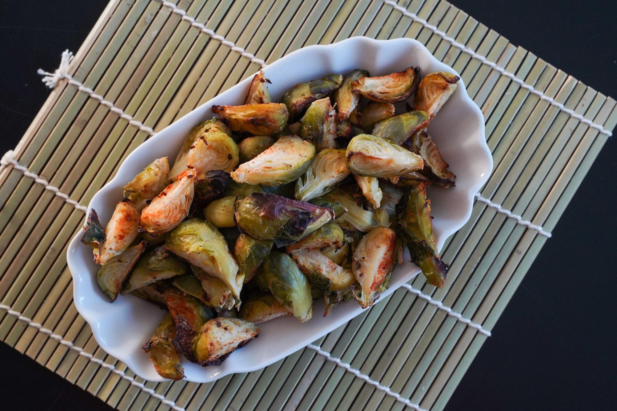 Rosenkohlecken | clean, vegan & low carb