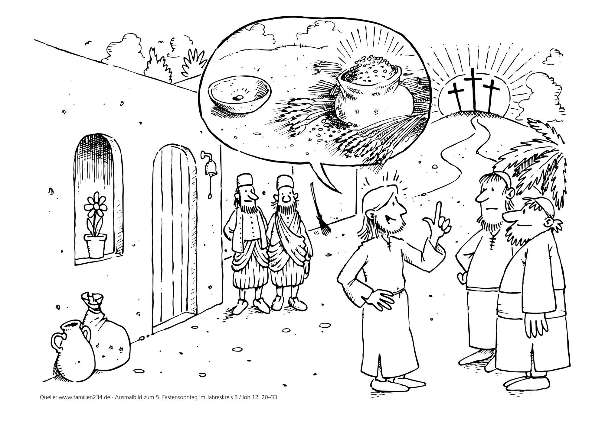 5.Fastensonntag - 5ème dimanche de carême