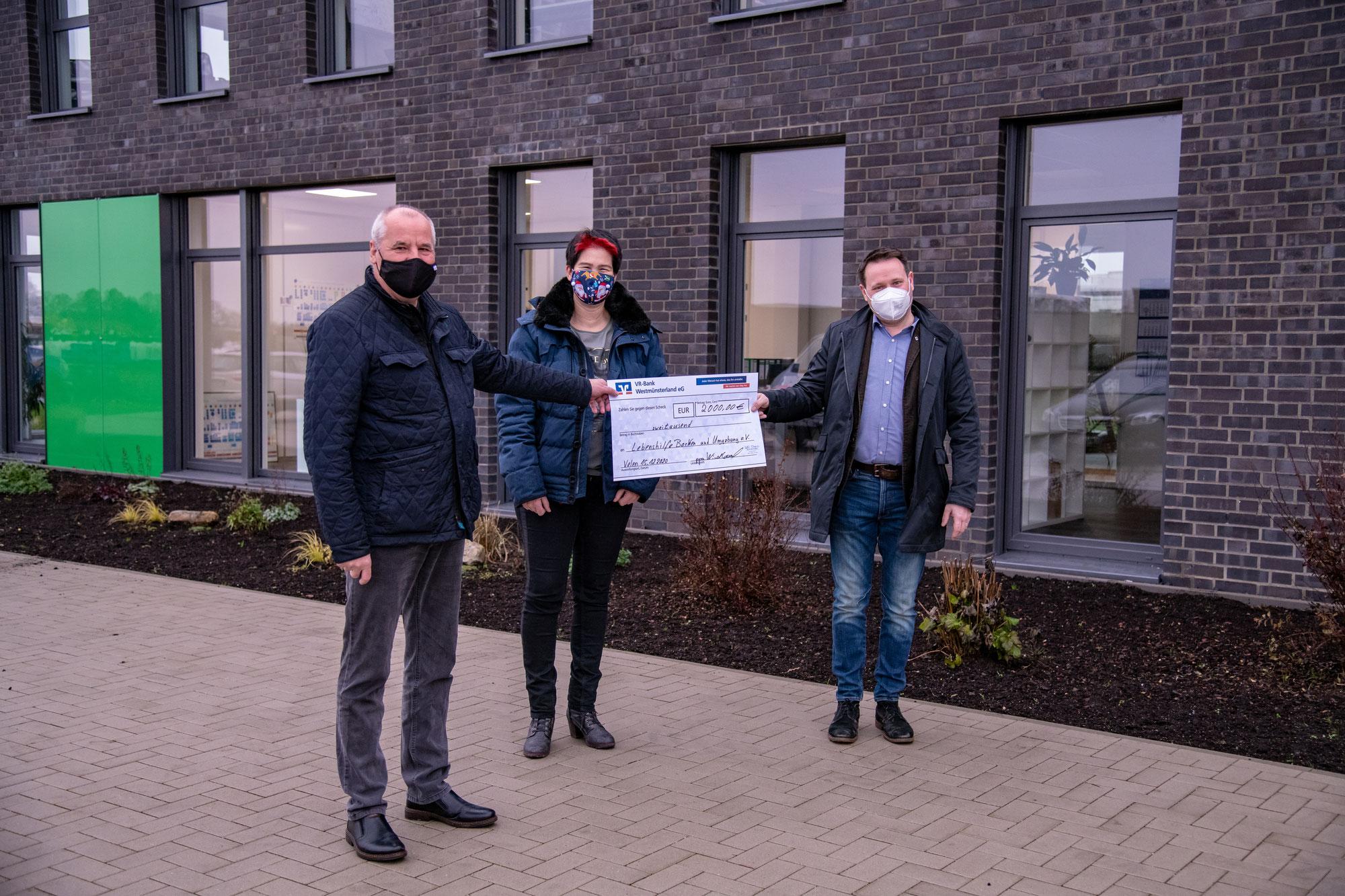 Geld für die Lebenshilfe | Christmas donation campaign