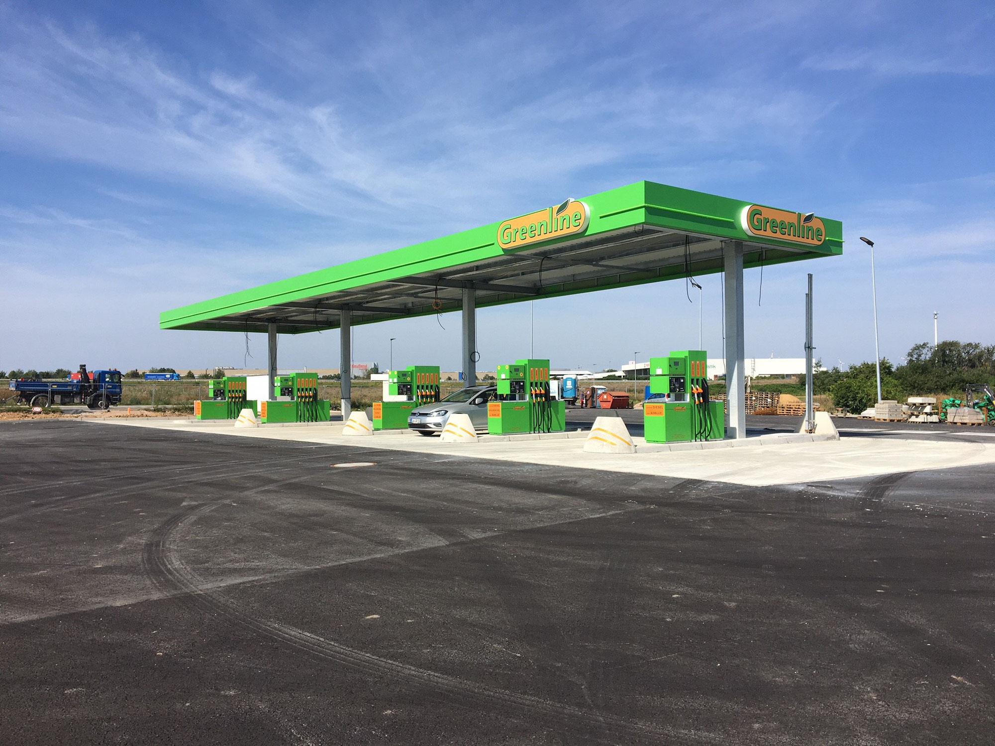 Tankstelle Unterkaka - bald ist es soweit