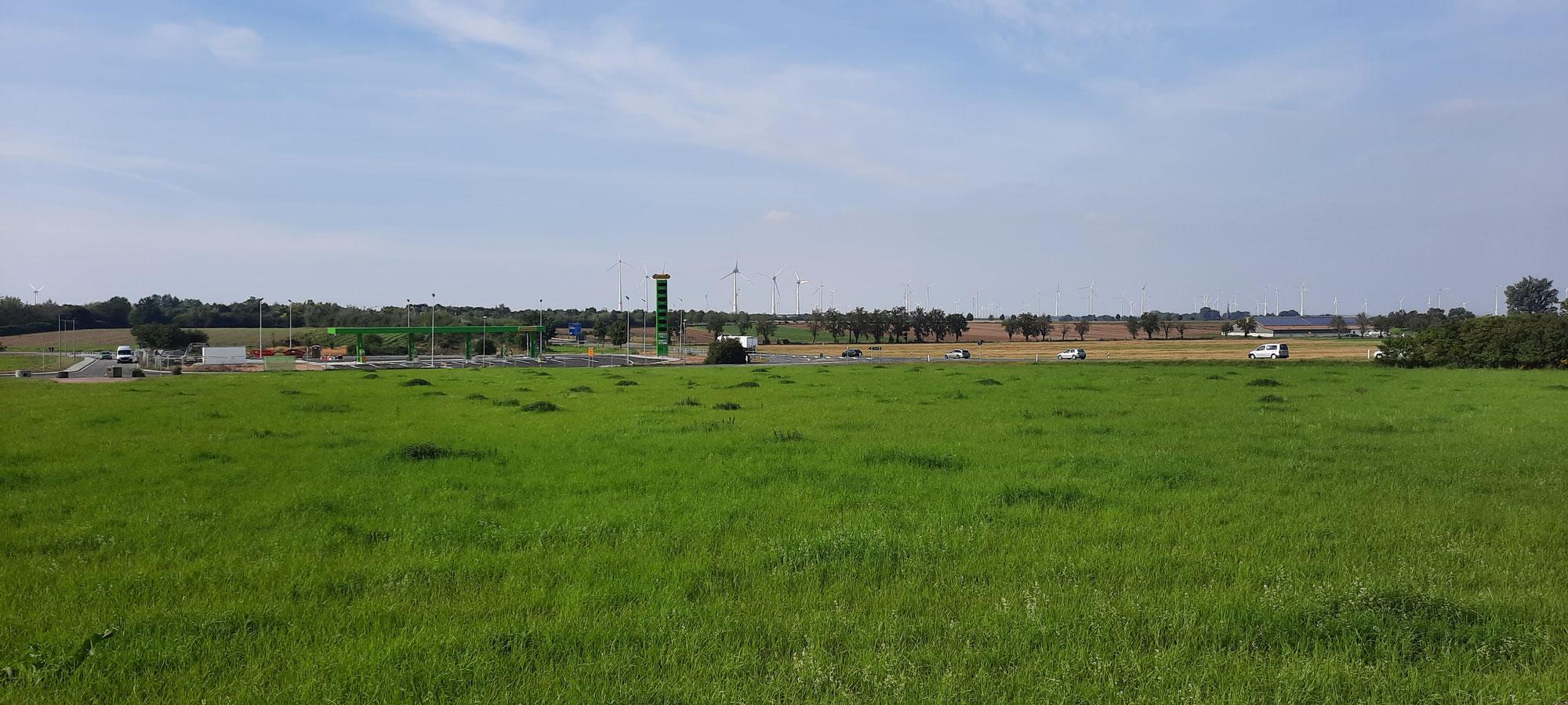Neueröffnung - Tankstelle Unterkaka/Meineweh