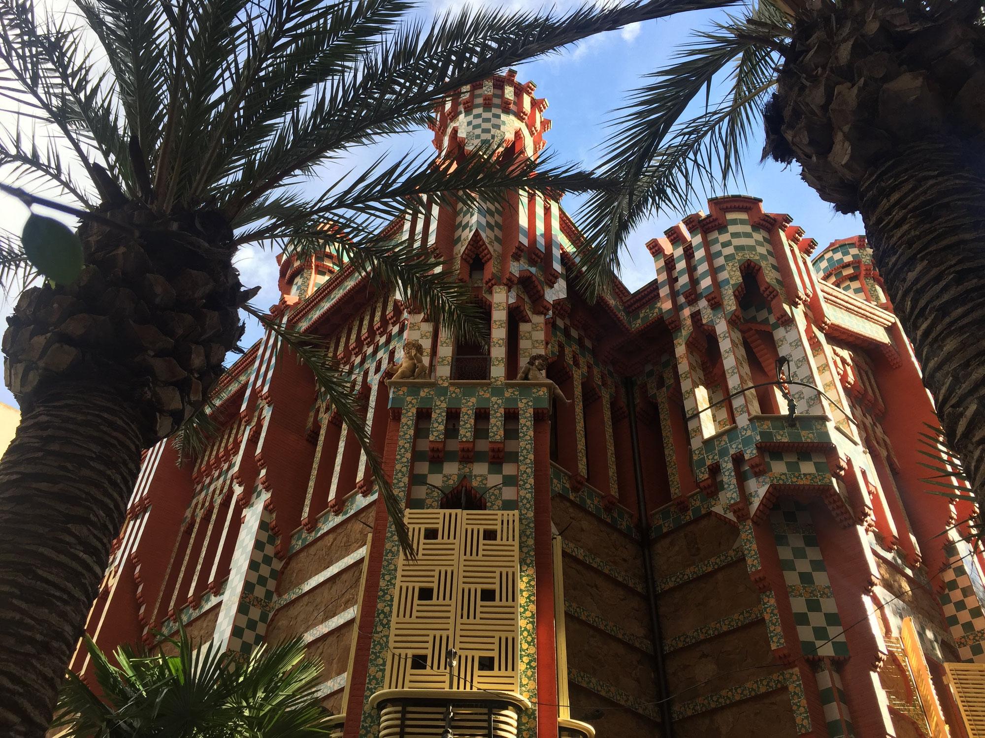 Nuevas aperturas de monumentos en Barcelona / Nuova apertura di monumenti a Barcellona - Casa Vicens Gaudí