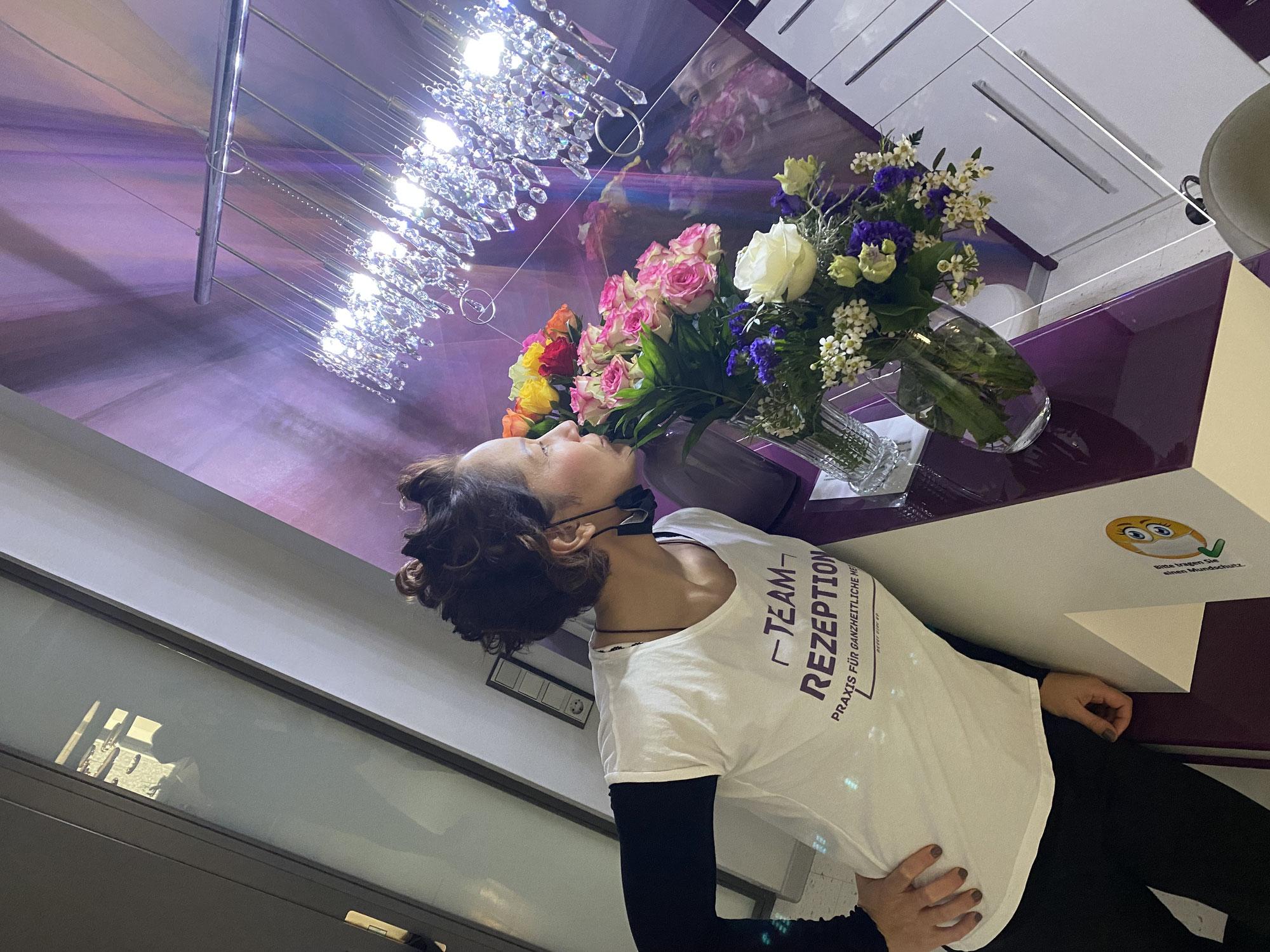 Blumen für die Blumen