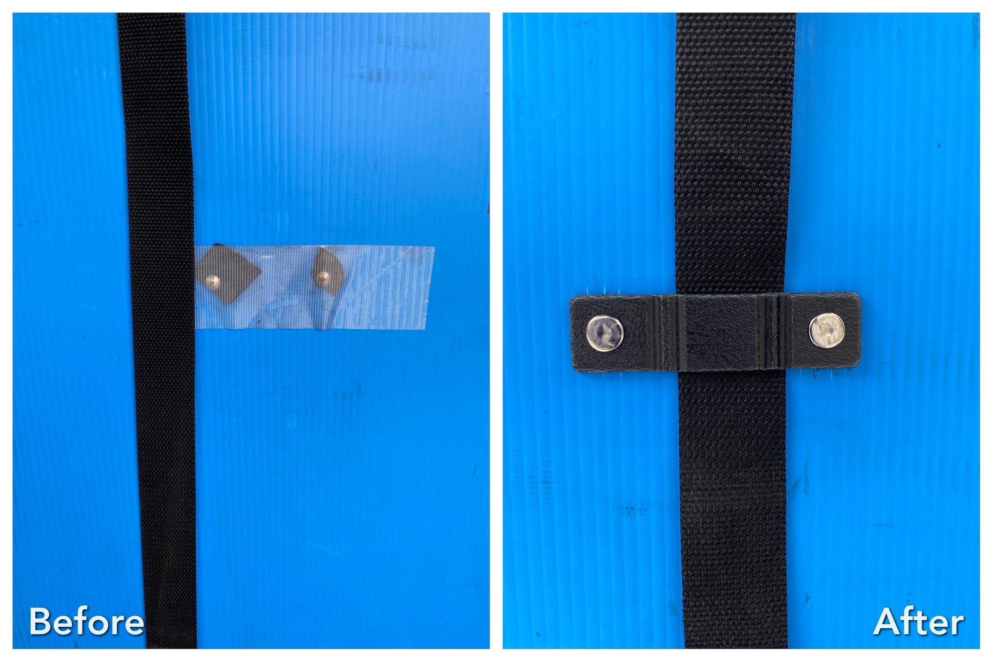 着ぐるみプラスチック段ボール修理