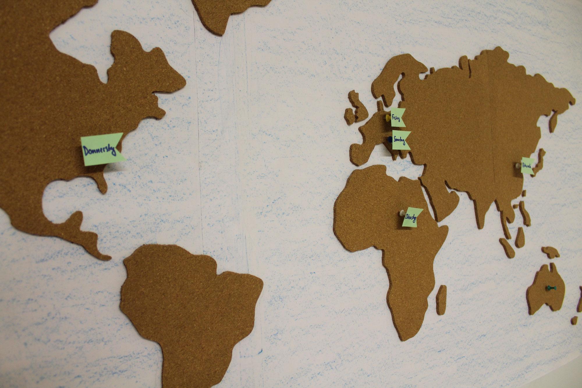 Ferienlager Erlebnis Rund um die Welt - Tag 1 & 2
