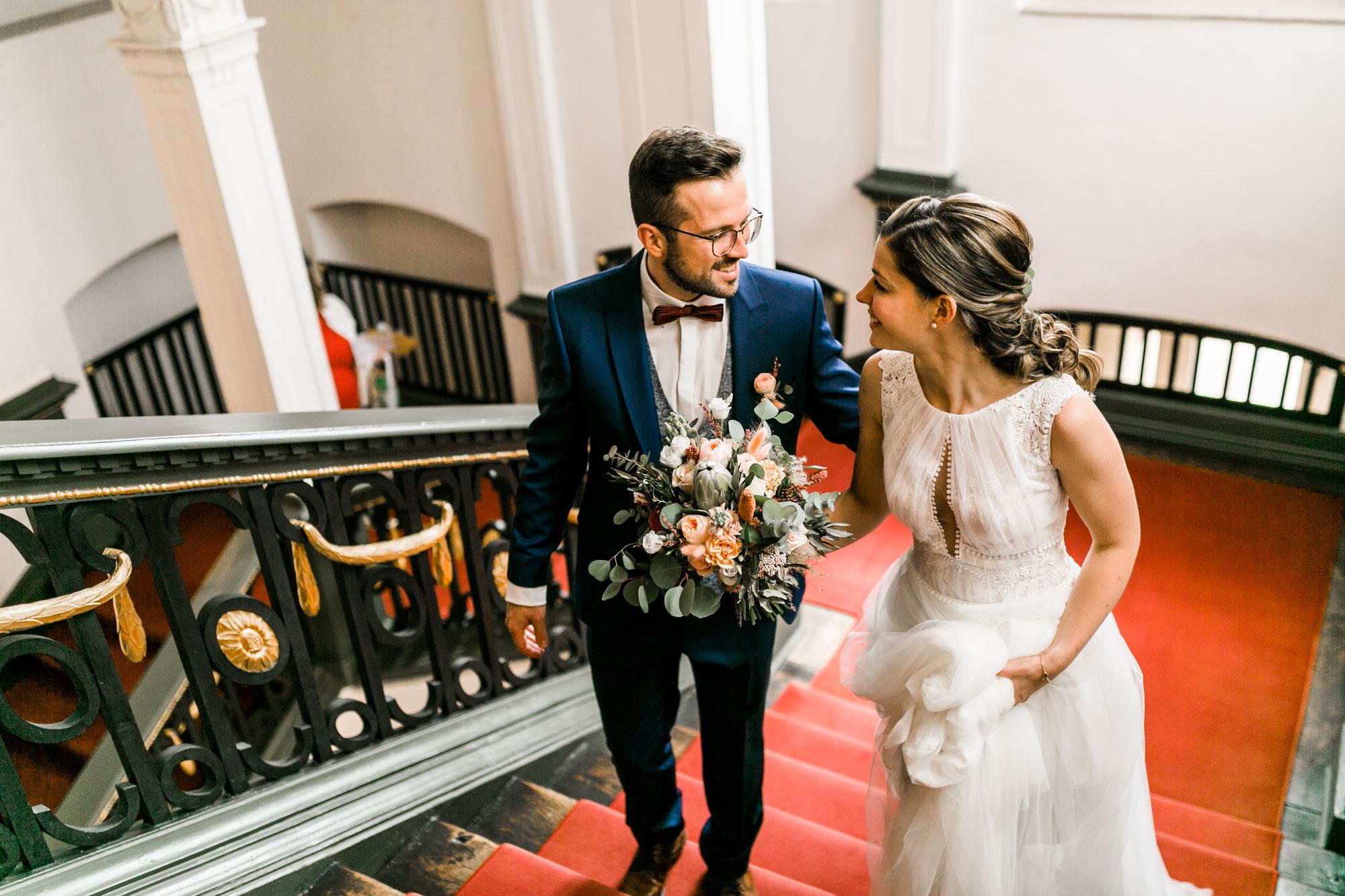 Miriam & Chris: Hochzeit im Palais Adelmann in Ellwangen