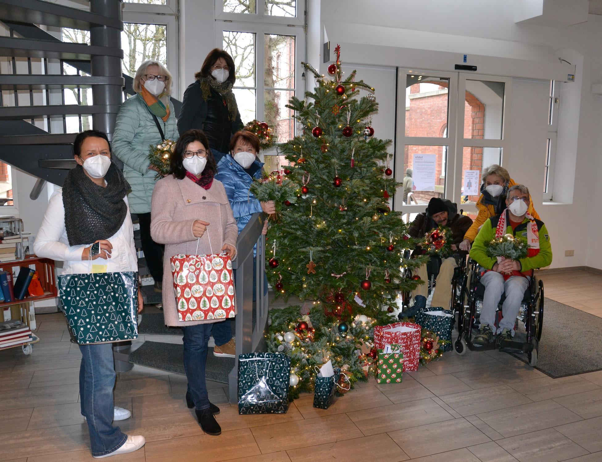 Weihnachtsüberraschung für die Wohngemeinschaften
