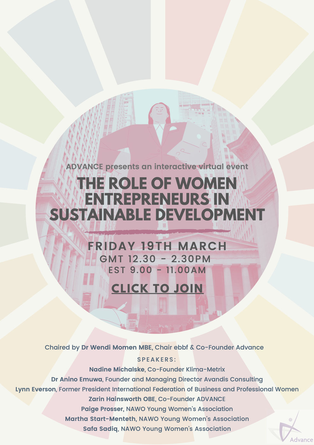 CSSW65 - The Role of Women Entrepreneurs in Sustainable Development