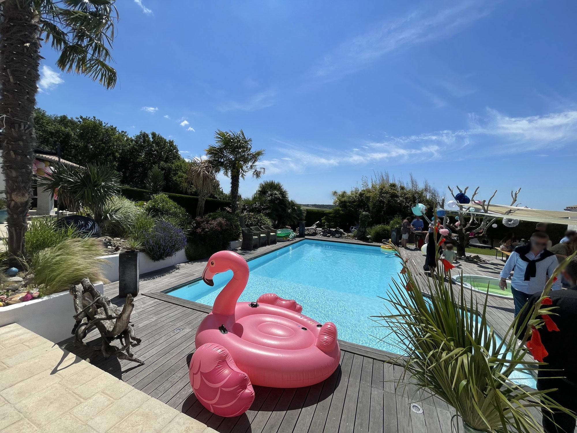 Reprise : Garden party / Pool Party - un dimanche au bord de l'eau