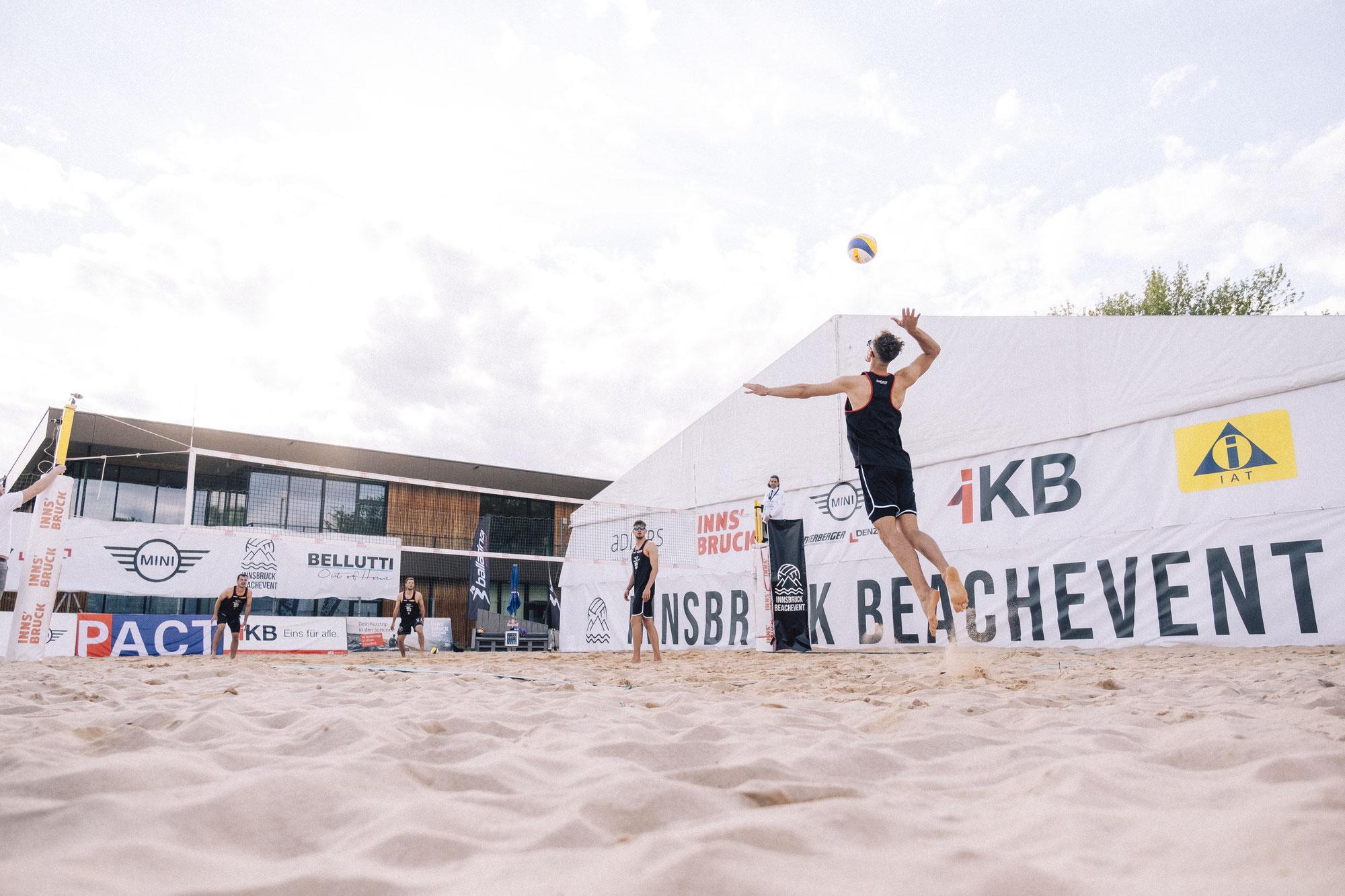 Round 1 beim Innsbruck BeachEvent ist gespielt