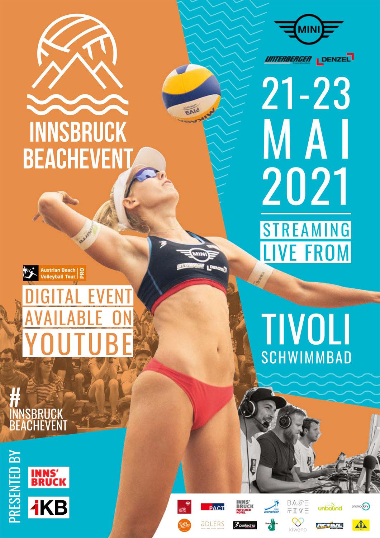 Das Innsbruck BeachEvent 2021 wird stattfinden. Ohne Publikum vor Ort, dafür mit Live-Übertragung