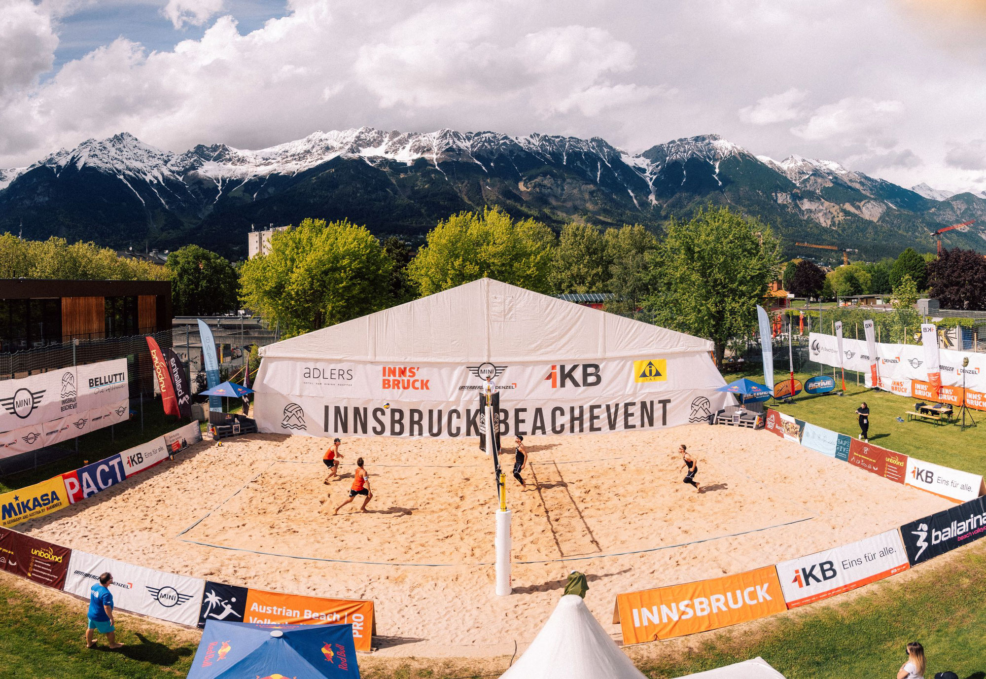 Die Semifinalist:innen für das Innsbruck BeachEvent 2021 stehen fest