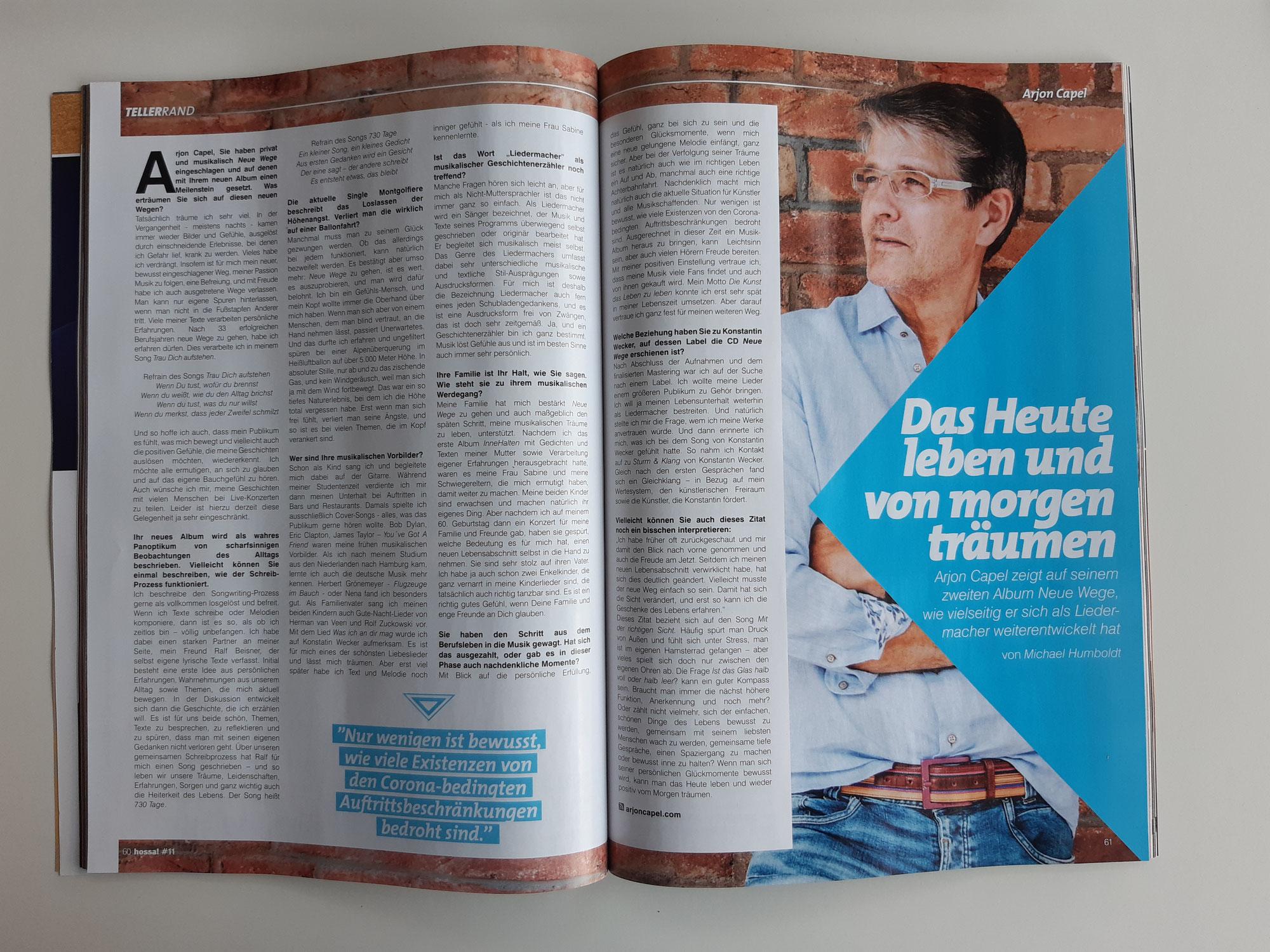 hossa! #11 - Interview von Michael Humboldt