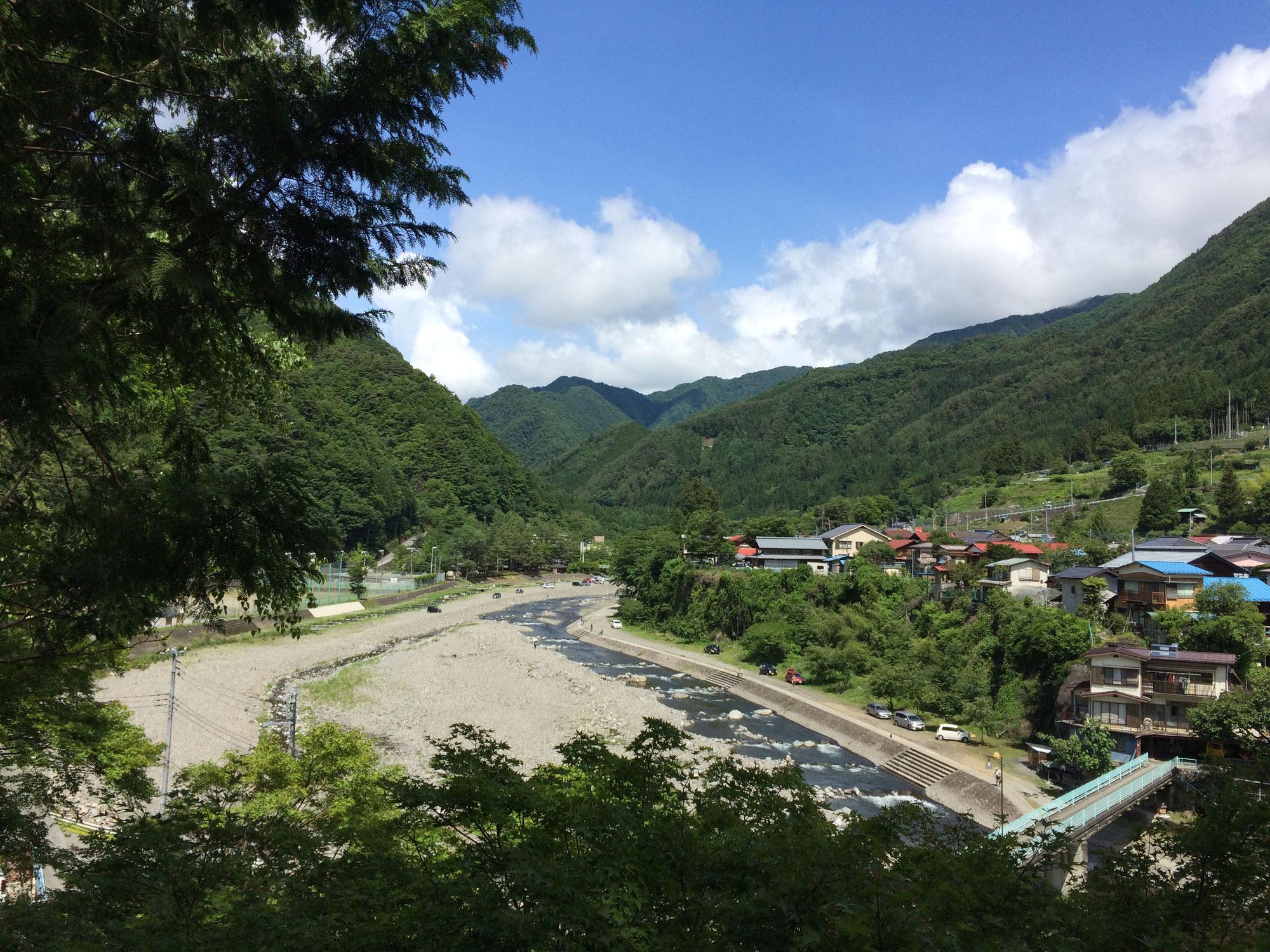 丹波山村の自然と中川金治物語
