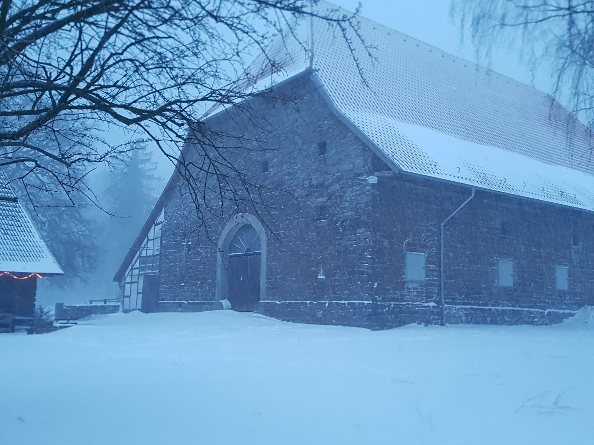 Der Rieperturm im Schnee