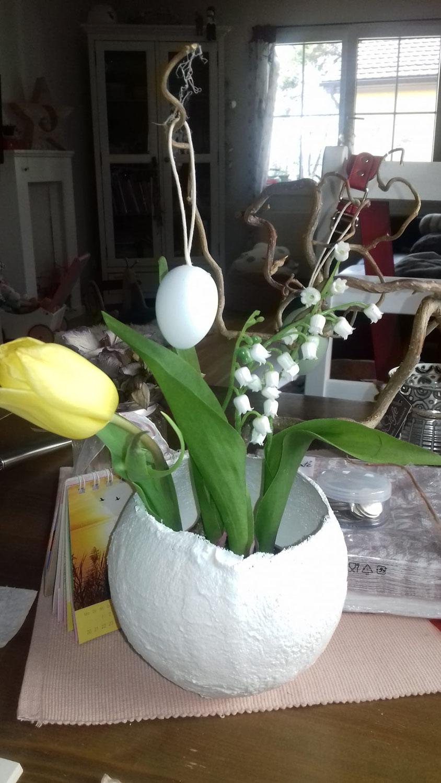 Brigith's Gips-Vasen