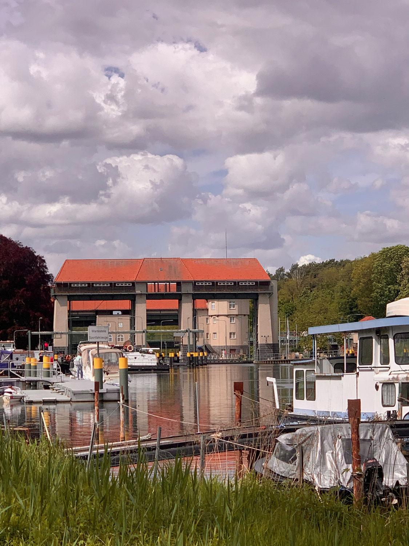 Teltow Kanal Wanderweg 3- Machnower Schleuse