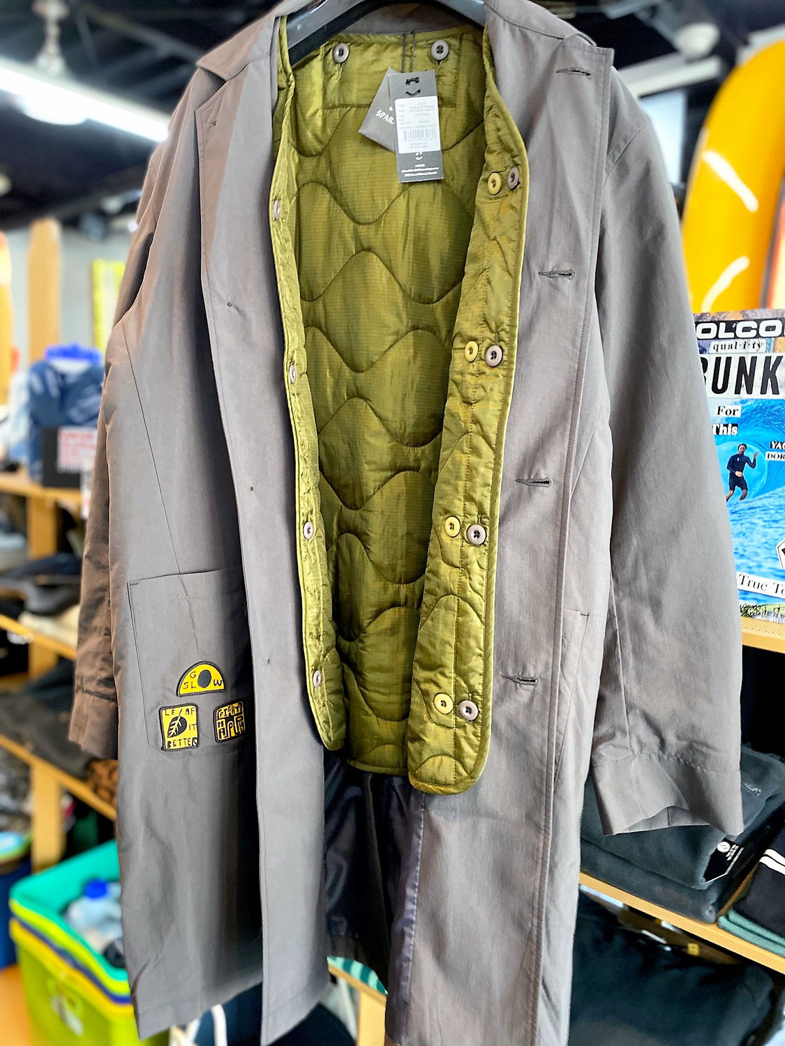 DOUBLE UP TRENCH