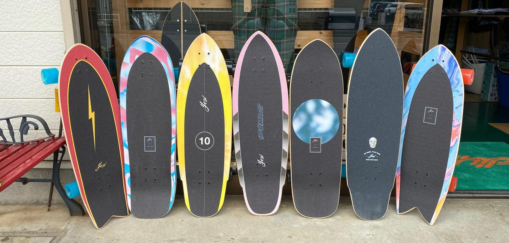 YOW SURF SKATE!