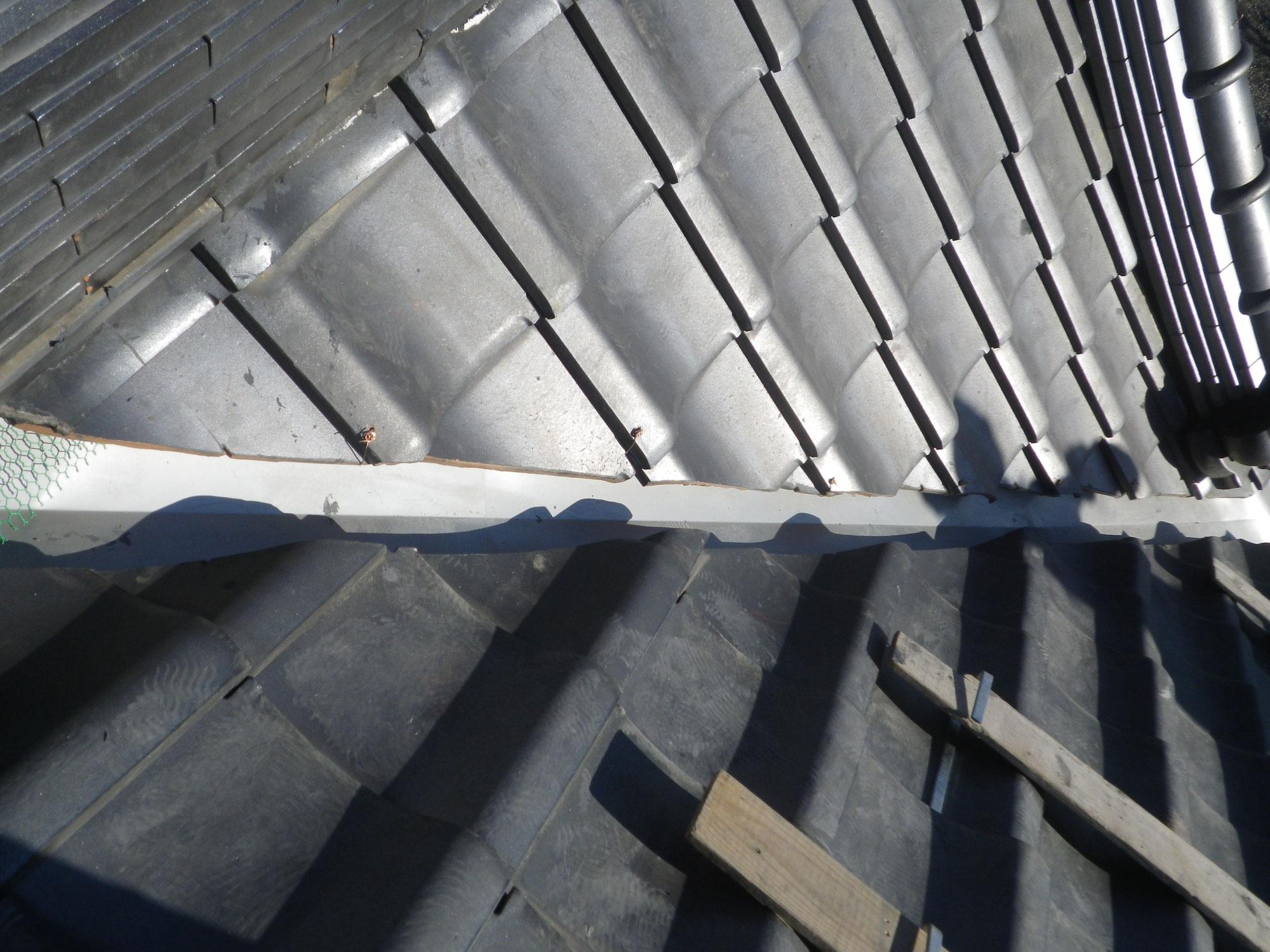 屋根の谷板金からの漏水修理をご紹介します!inさくら市