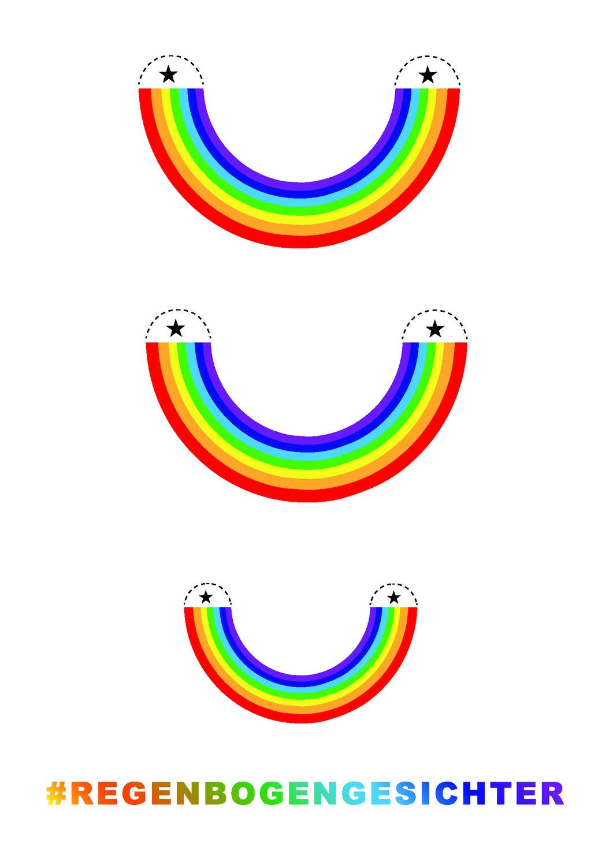 SozialonautInnen rufen ganz Findorff zur Mission»lächelnder Regenbogen« auf