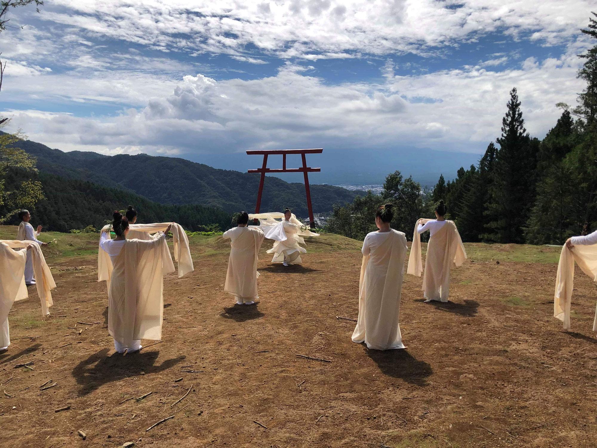 奉納舞講座~富士の山 木花咲耶姫