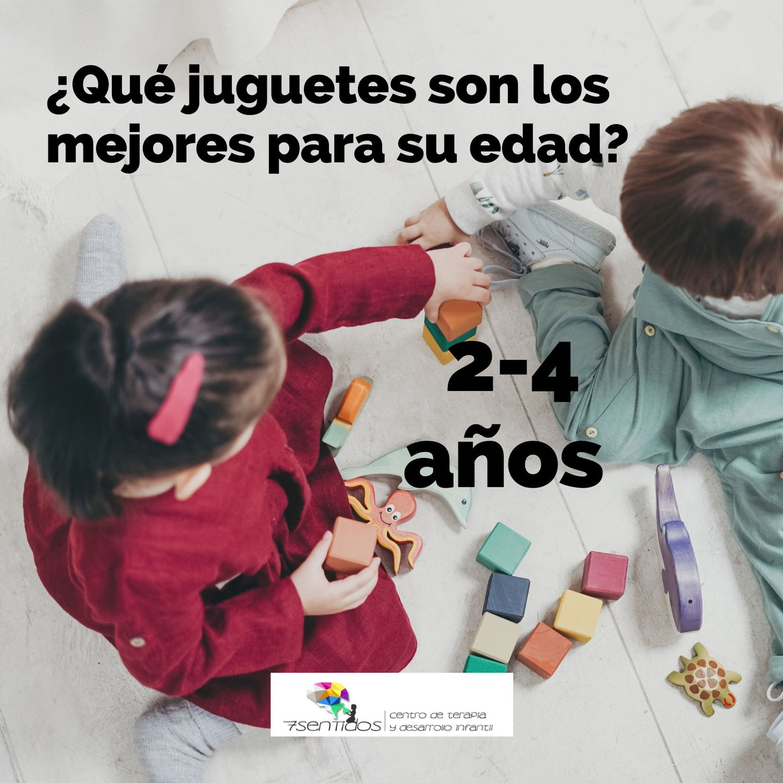 ¿Qué juguetes son los mejores para su edad? 2-4 años