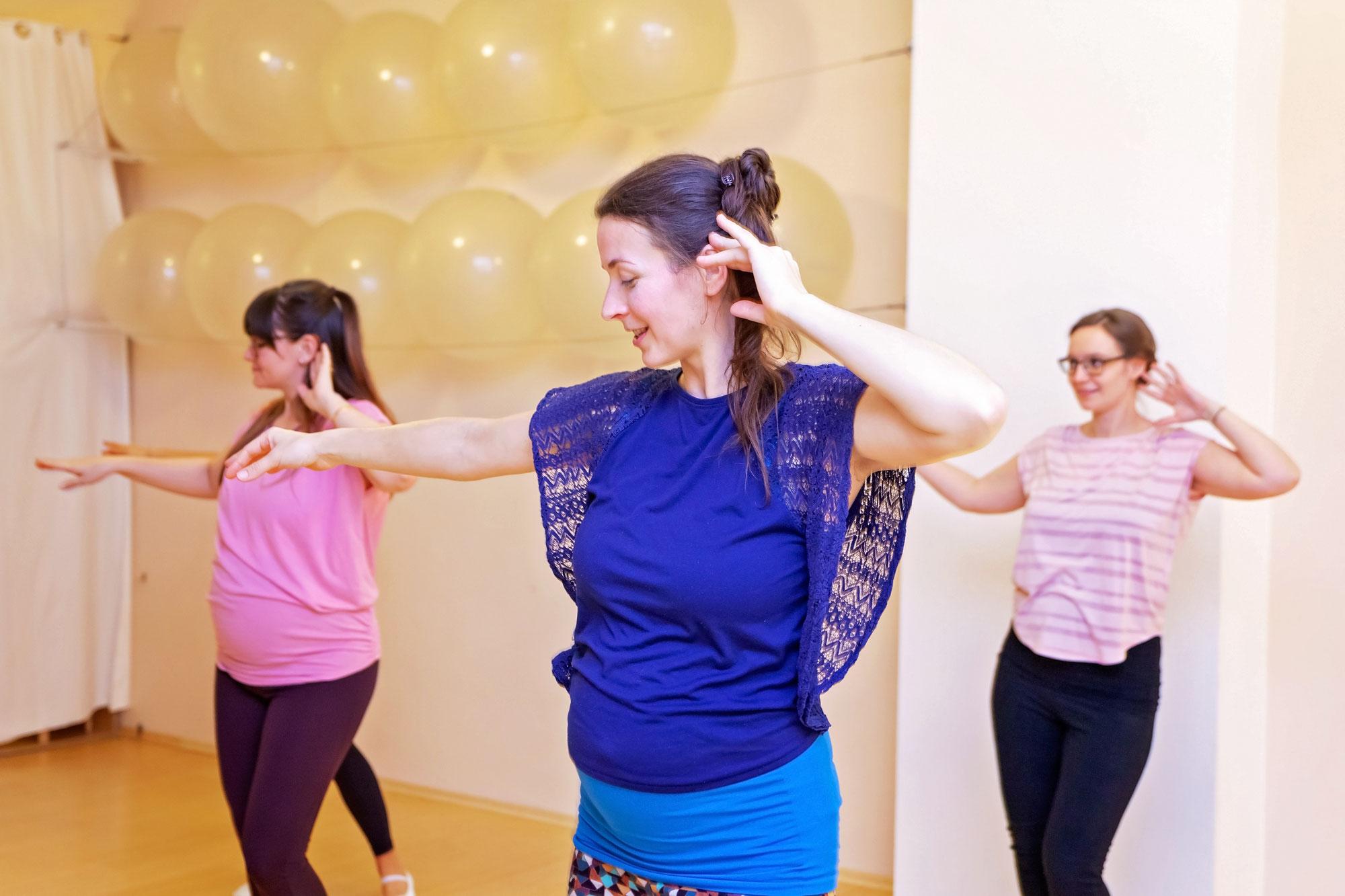 Babybauch-Tanz im ZDF Morgenmagazin