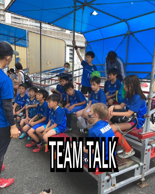 初のチームミーティング