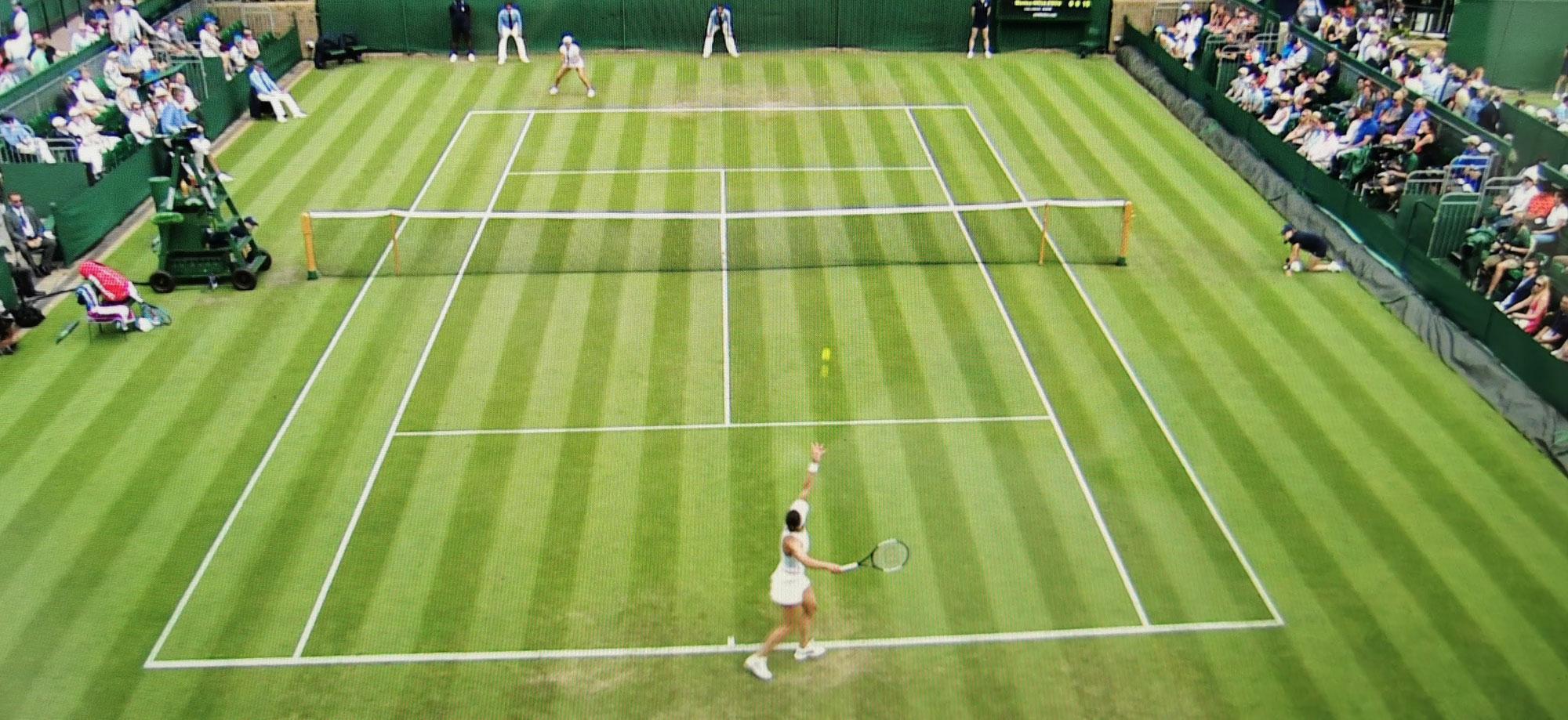 2021 Wimbledon … Deutsche Tennisspielerin im Juniorinnen-Finale