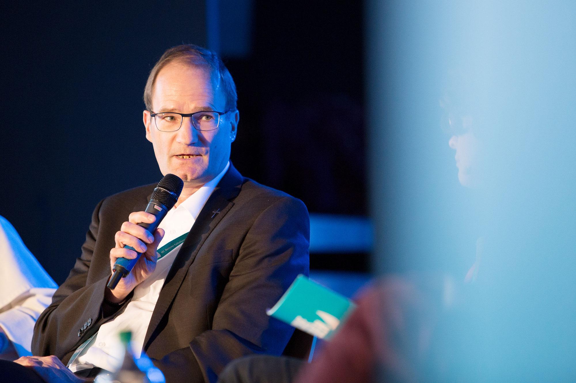 Bibelvortrag von Generalvikar Klaus Pfeffer