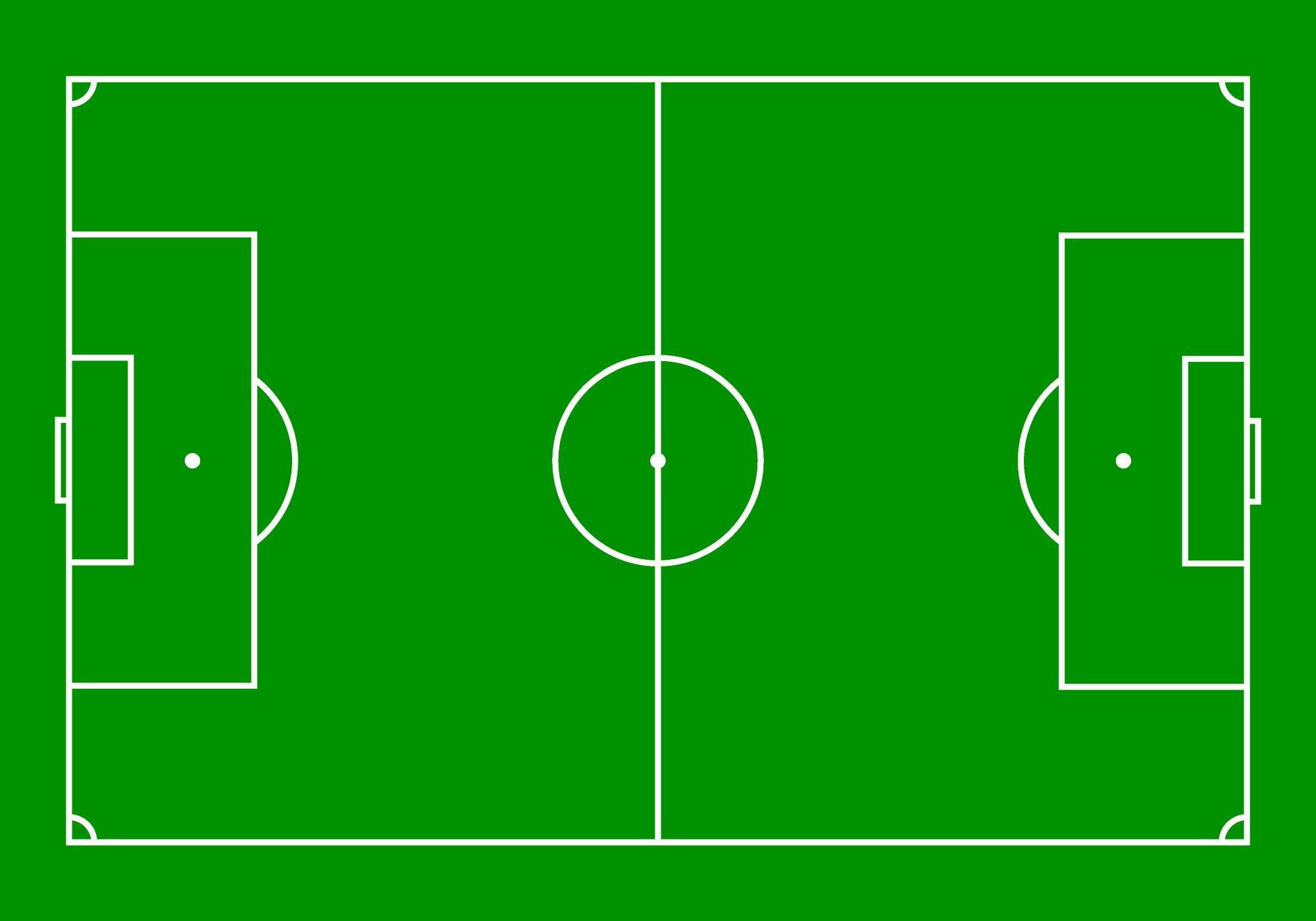 Fußballfeld Englisch