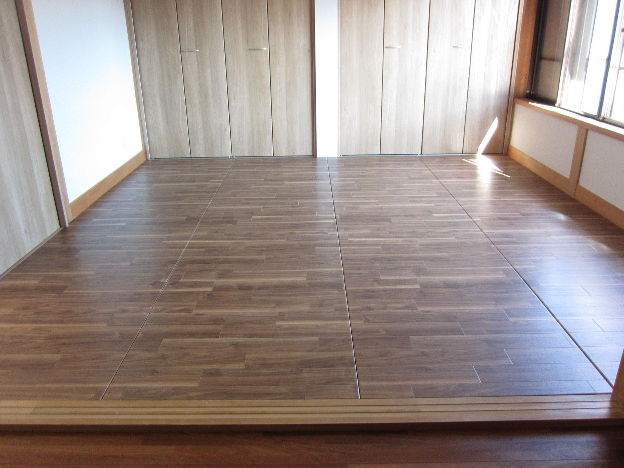 リフォーム畳®で洋室に簡単リフォーム