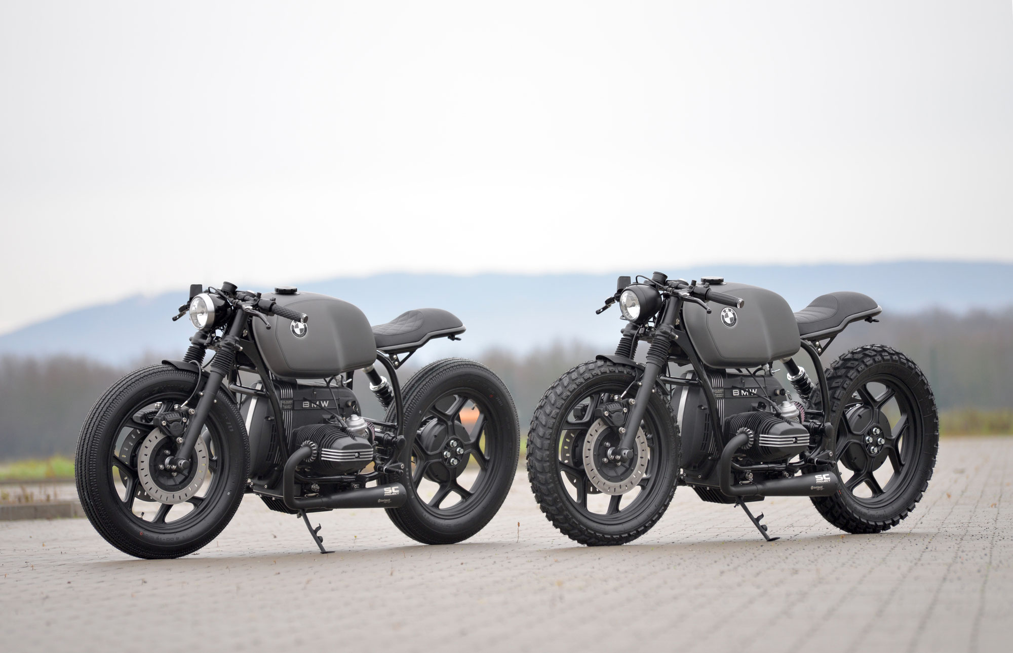 """New Bikes: SCHIZZO® Cafe Racer """"Doublepack"""""""