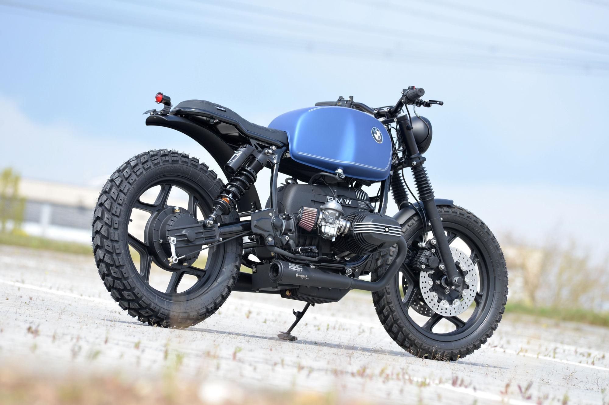 """New Bike: SCHIZZO® Scrambler in """"Silk-Blue""""!"""