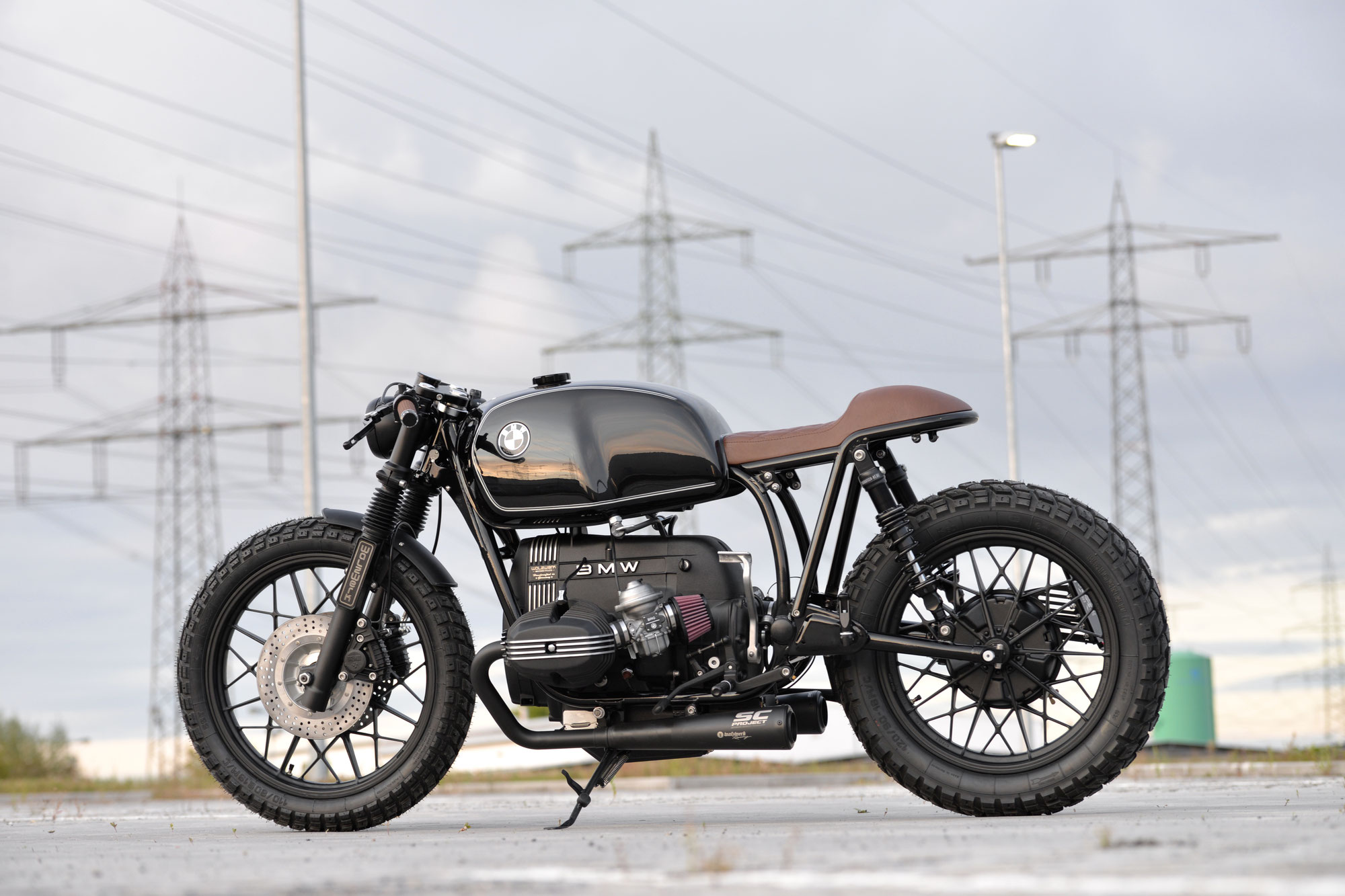 New Bike: SCHIZZO® Cafe Racer for Kevin Trapp!