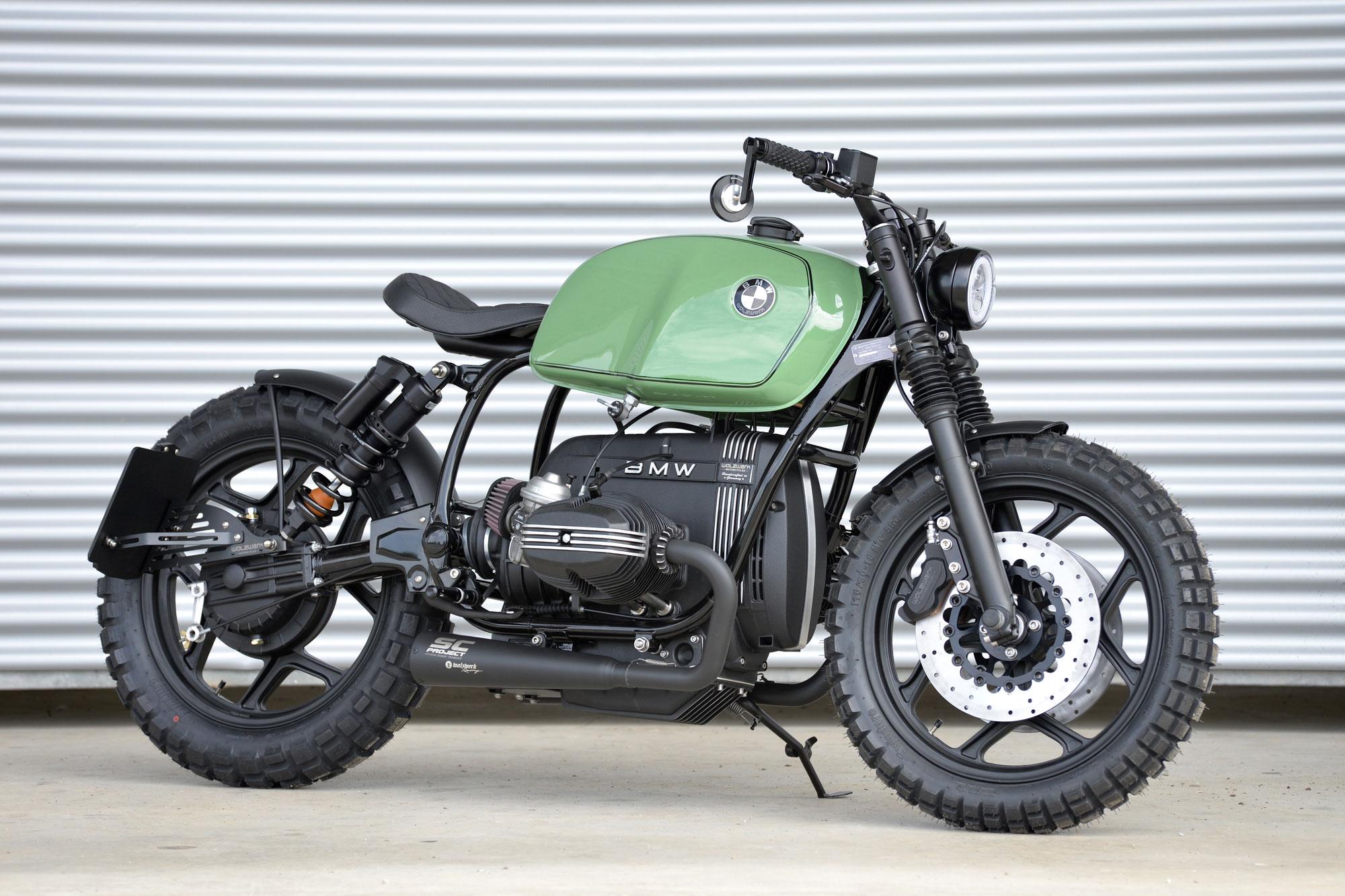 """New Bike: SCHIZZO® Bobber in """"verde-reseda""""!"""